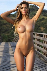 Model Claudia  in On The Bridge 2