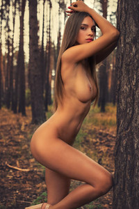 Model Alina in In The Wood 2